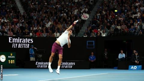 Australian Open: Roger Federer reaches quarter-finals with win over Marton Fucsovics