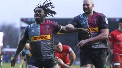 Premiership: Harlequins 41-14 Saracens - Quins thump relegated Sarries