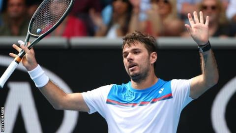 Wawrinka beats Medvedev in thriller, while Thiem also reaches last eight