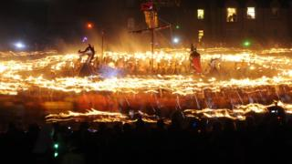 Up Helly Aa: The songwriter who introduced Vikings to Shetland