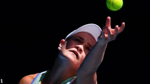 Barty beats Kvitova to reach Australian Open semi-finals