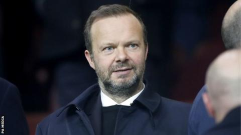 Ed Woodward: Man Utd executive vice-chairman