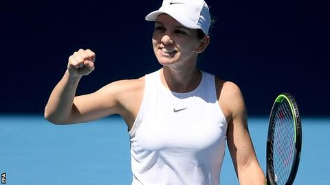 Superb Halep races into Australian Open semi-finals