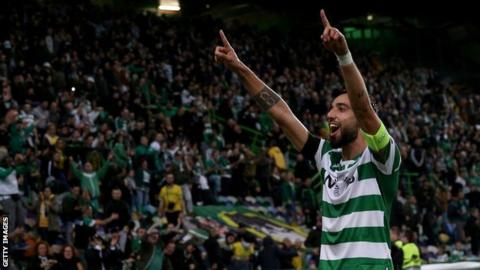 Man Utd agree deal to sign Fernandes from Sporting - subject to medical & personal terms