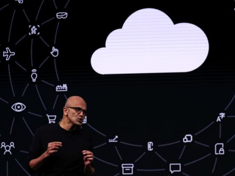 These 7 charts show all the ways Satya Nadella transformed Microsoft from a tech has-been to a trillion-dollar giant in 6 years (MSFT)