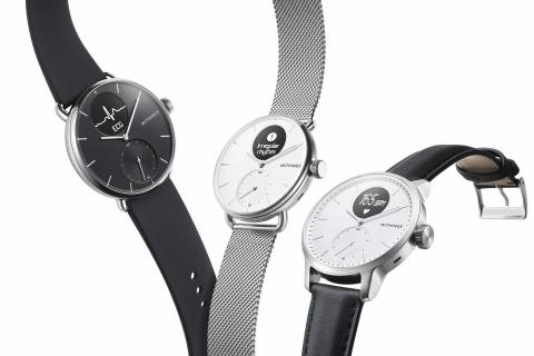 Withings says its latest watch can detect sleep apnea
