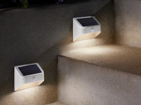 Ring revamps lighting lineup with solar panels and indoor lightbulb