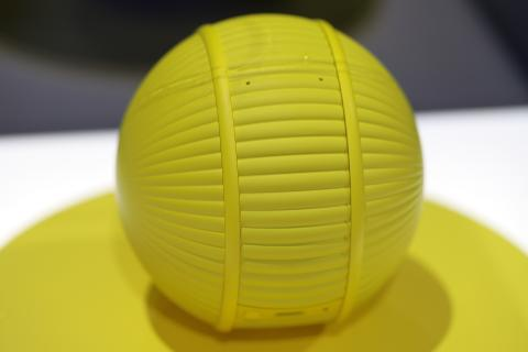 A closer look at Ballie, Samsung's friendly robotic ball