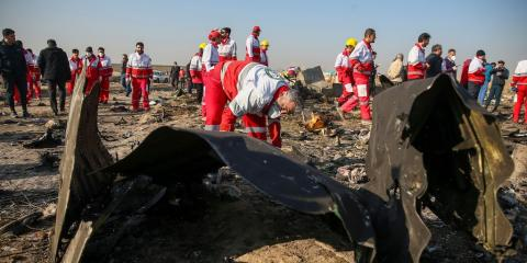 These are the unanswered questions about the crash of a Ukrainian plane in Iran that killed 176 people