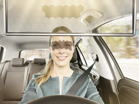 Bosch is using artificial intelligence to eliminate sun glare while driving