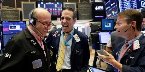 Dow breaks the 29,000 threshold for first time