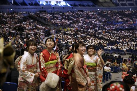 Coming-of-Age Day ceremonies held across Japan