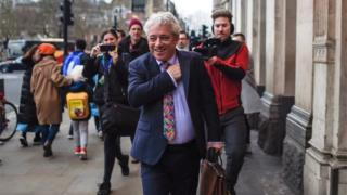 'Scandal' if Bercow got peerage - ex-Parliament official