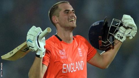 Alex Hales: Eoin Morgan says batsman won