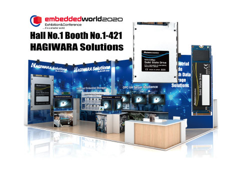 Hagiwara Solutions Co., Ltd., an Elecom group Company, Will Be Exhibiting Its New and Innovative Products at Embedded World 2020, Nuremberg, Germany