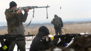 Ukraine conflict: Deadly flare-up on eastern front line