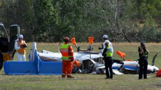 Australia planes collide north of Melbourne, killing four