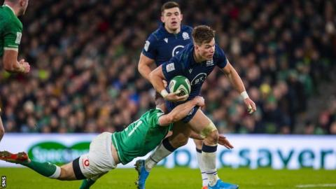 Scotland replace Jones with Harris for Italy match