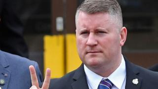 Britain First leader Paul Golding charged with terror offence
