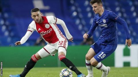 Chelsea agree personal terms with Ajax winger Ziyech