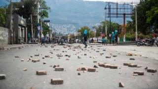 In pictures: Haiti capital