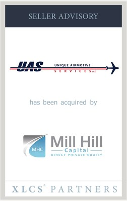 XLCS Partners advises Unique Airmotive Services in sale to Mill Hill Capital