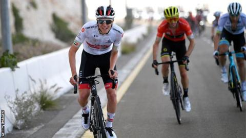 Adam Yates retains UAE Tour lead, but loses out in sprint on stage five