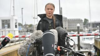 Bristol roads shut for Greta Thunberg climate strike