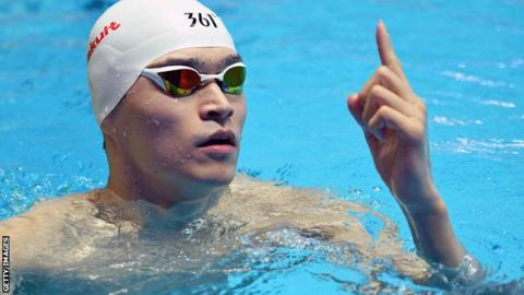 Eight-year ban for Chinese triple Olympic champion