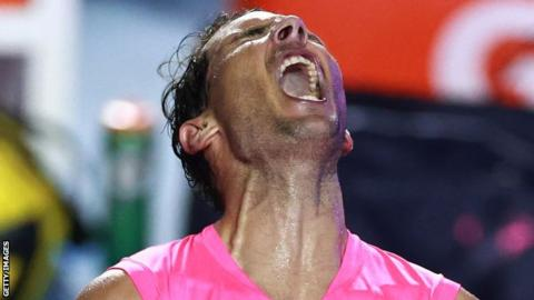 Mexican Open: Rafael Nadal to face Taylor Fritz in men