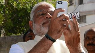 Indian PM Narendra Modi 'scares' millions of social followers