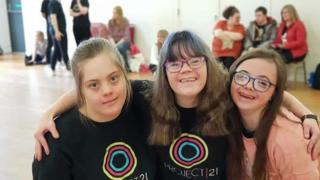 Coronavirus: Dancers with Down's syndrome vow to carry on
