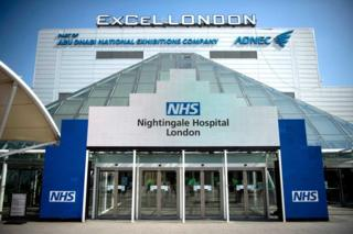 In pictures: Building NHS Nightingale Hospital London