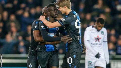 Club Bruges to be declared champions as Belgian league cancelled