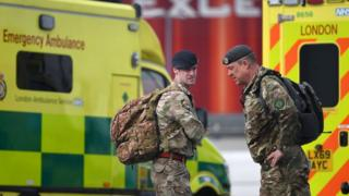 Coronavirus: Armed forces to support ambulance staff
