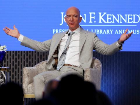 Jeff Bezos says he's donating $100 million to help food banks that are facing shortages due to the coronavirus outbreak (AMZN)