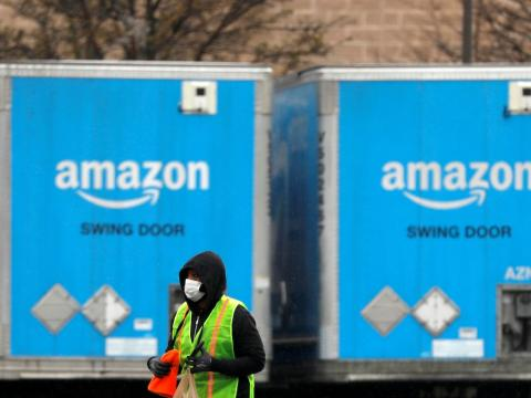 'It's a slap in the face': Amazon is handing out 'Thank you' t-shirts to warehouse workers as it cuts their hazard pay