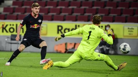 Timo Werner scores again in RB Leipzig win against Cologne