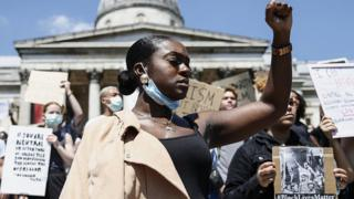 Why US protests resonate in UK