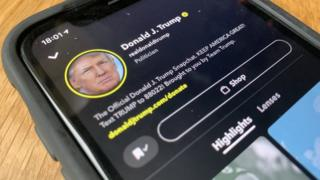 Snapchat stops promoting Donald Trump