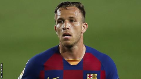 Arthur: Barcelona midfielder to join Juventus at the end of the season
