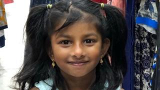 Girl, 5, who was knifed to death, named