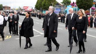 Bobby Storey funeral: O