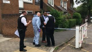 Islington shooting: Man in 20s shot dead