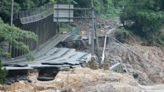 Japan floods: Country braces for more rain as death toll rises