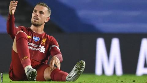 Liverpool captain Henderson out for rest of season