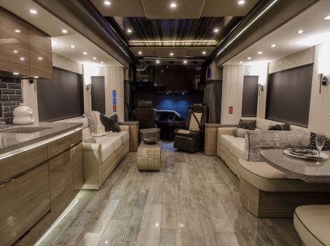 These 8 luxurious RVs each cost more than $200,000 a?? take a look inside