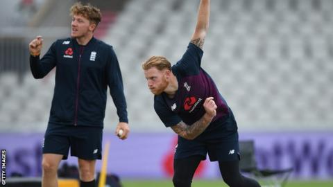 Stokes boosts England by bowling in nets before first Test against Pakistan