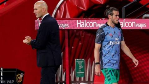 Bale left out of Real Madrid squad for Man City game