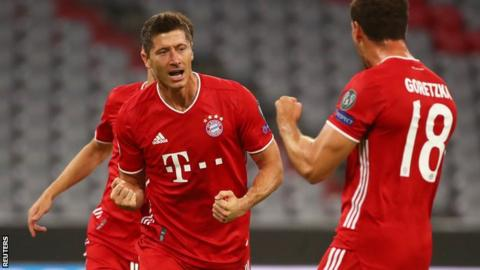 Champions League: Could Robert Lewandowski beat Cristiano Ronaldo